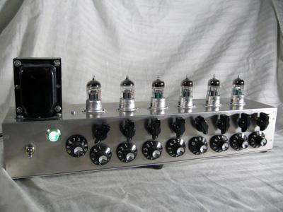 Tube line level mixer